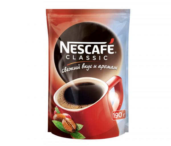 Նեսկաֆե Կլասիկ Լուծվող սուրճ 190գ