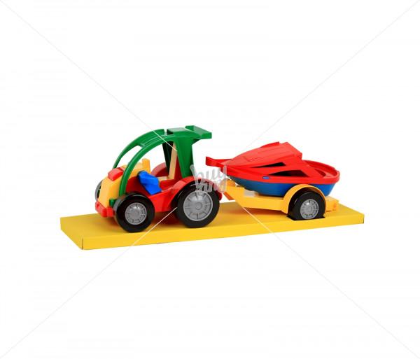 Խաղալիք մեքենա կցասայլով Wader