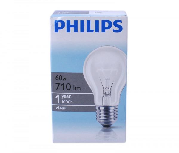 Ֆիլիպս Լամպ Ստանդարտ 60w E27 230v A55 Cl