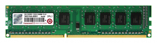 Օպերատիվ հիշողության սալիկ (RAM) RCM 1GB 1333