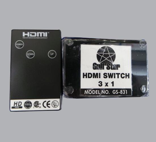 HDMI սվիչ Gulf Star GS831 (3in1)*****
