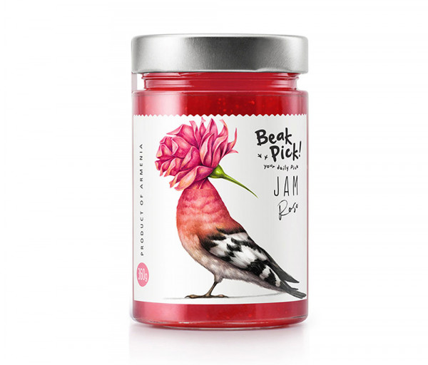 Վարդի մուրաբա «Beak Pick» 360գ