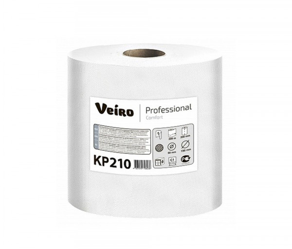 Paper cylindrical towel Veiro Professional KP210