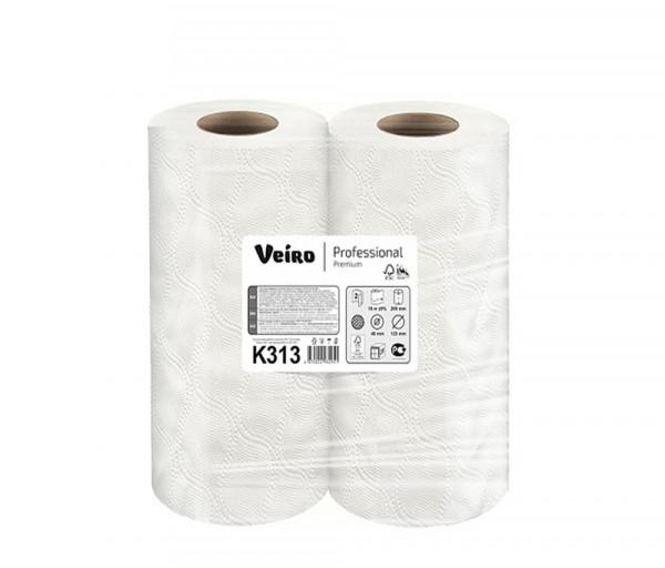 Paper towel in rolls Veiro Professional K313