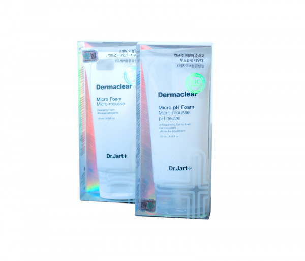 Դեմքի փրփուր «Micro Foam Micro mousse & Micro pH Foam Micro-mousse» Dr. Jart 120մլ