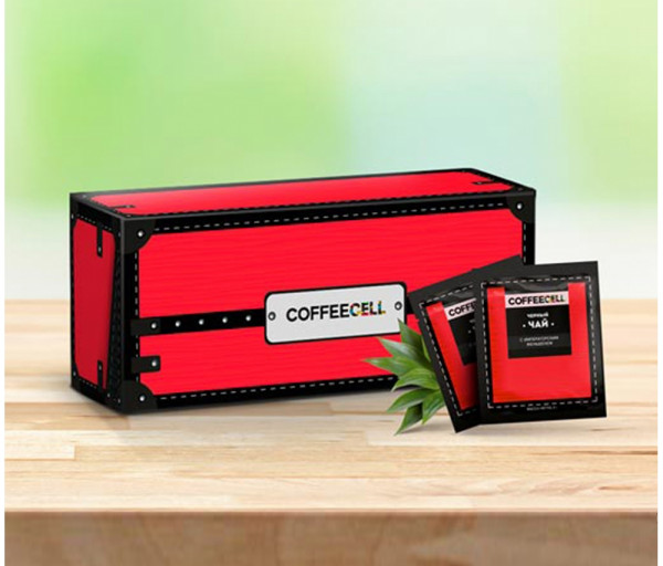Սև թեյ կայսերական ժենշենով Coffeecell