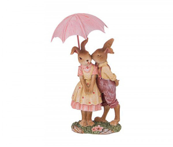 Արձանիկ Кролики 9x5.5x16սմ