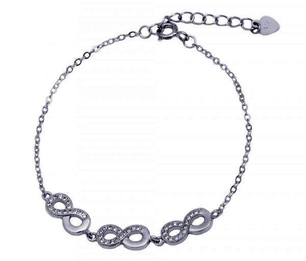 Silver bracelet SB112