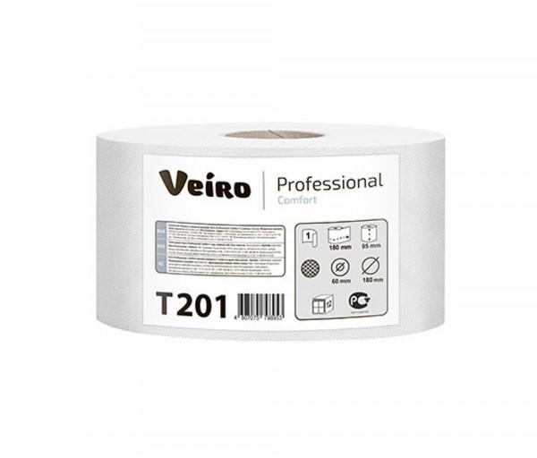 Զուգարանի թուղթ (միաշերտ) Veiro Professional T201, 180մ