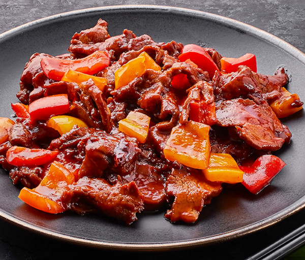 Ջայլամի միս կծու-թթու-քաղցր սոուսով Դրագոն Գարդեն