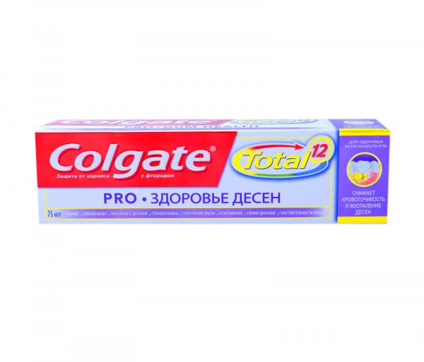 Քոլգեյթ Ատամի մածուկ Տոտալ Լնդերի առողջություն 75մլ