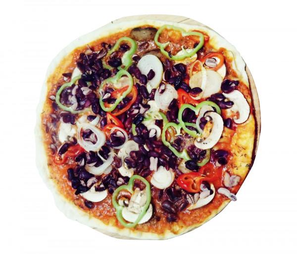 Բուսական պիցցա (մեծ) Պիցցա Է Վինո