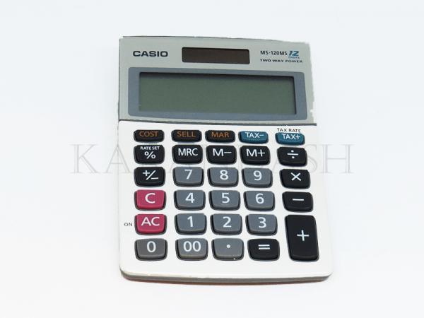 Հաշվիչ սեղանի Casio MS 120MS