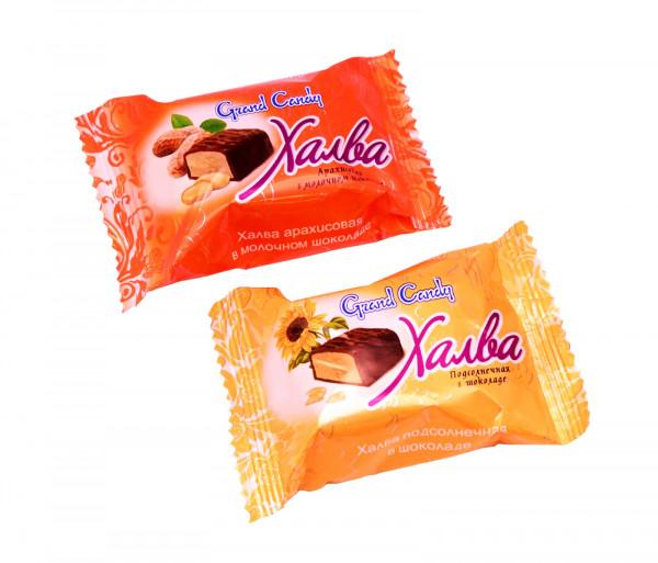 Հալվա կաթնային շոկոլադով Grand Candy