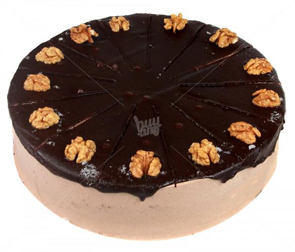 Տորթ «Շոկոլադեպատ ընկույզ» Jazzve