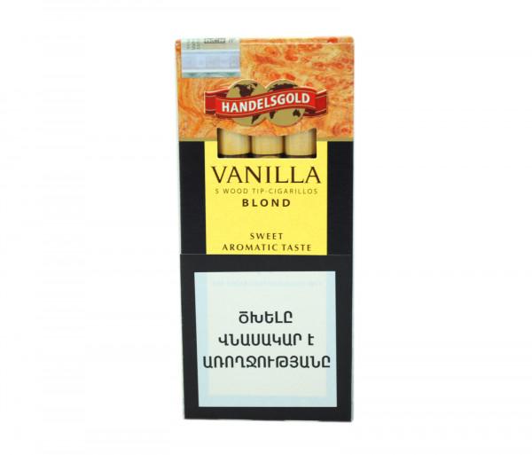Սիգարելա Handelsgold Vanilla Wood Tip Blond 5