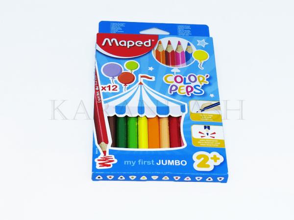 Մատիտներ գունավոր Maped Color peps Jumbo FR83401013