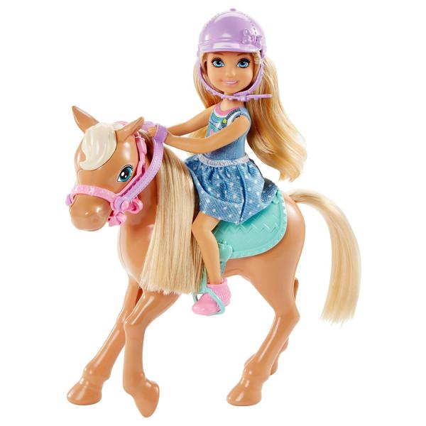 Տիկնիկ հավաքածու Զբոսանք պոնիի հետ Barbie