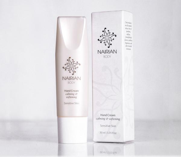 Ձեռքի քսուք զգայուն մաշկի համար 30մլ Nairian