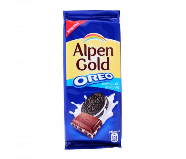 Ալպեն Գոլդ Կաթնային Շոկոլադ Օրեո 95գ