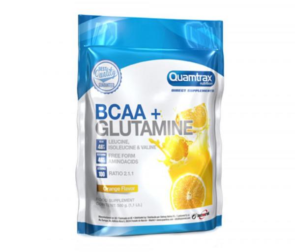 BCAA + Glutamine 500g Orange