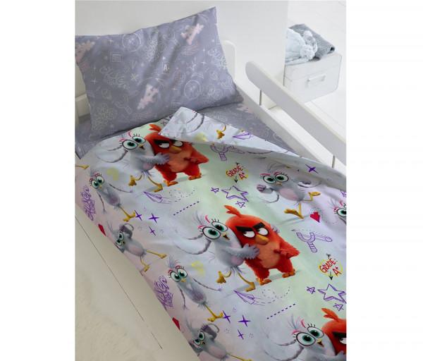 Անկողնու հավաքածու 1,5 Angry Birds 2 (50х70)