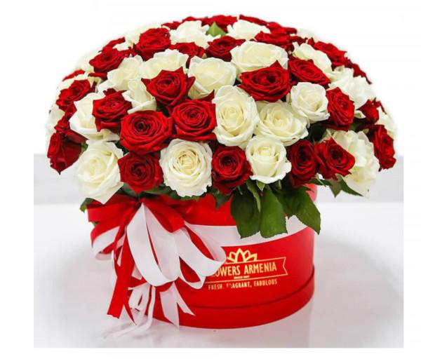 Ծաղկետուփ «Չսպասված Անակնկալ» Flowers Armenia