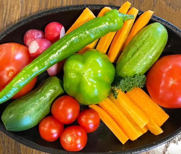 Բանջարեղենի տեսականի Քամանչա Ռեստորան