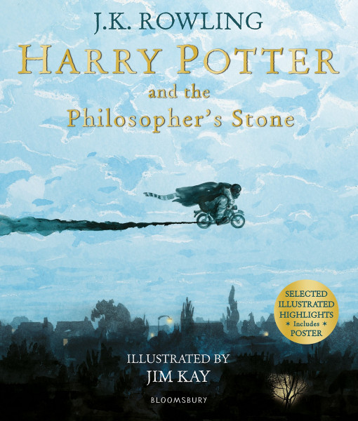 """J. K. Rowling """"Harry Potter Philosopher's Stone"""" Bookinist"""