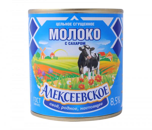 Ալեքսեեվսկոե Խտացրած կաթ 380գ