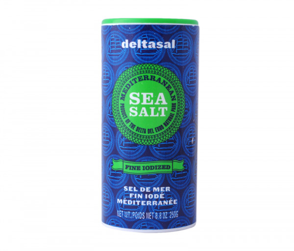 Դելտասալ Ծովի կերակրի աղ 250գ