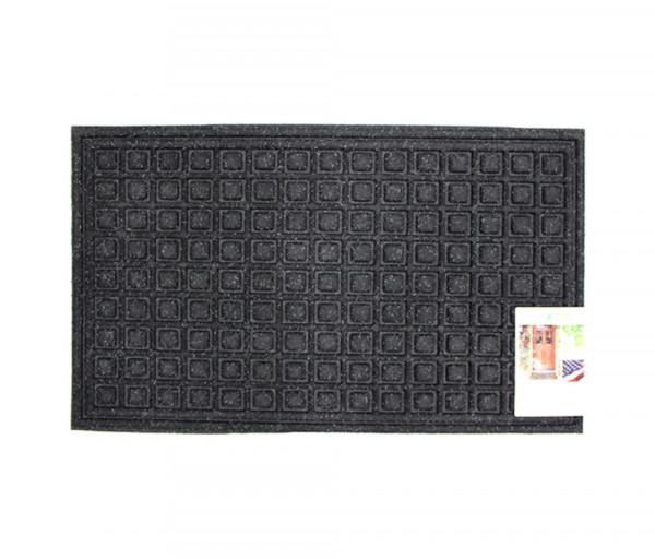 Mat Textures Blocks Onyx, 45x76cm