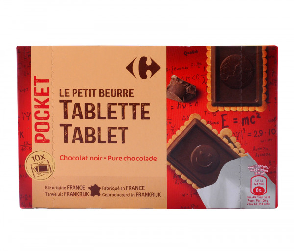Carrefour Butter Cookies W Blk Chocolate 250g Butter Cookies