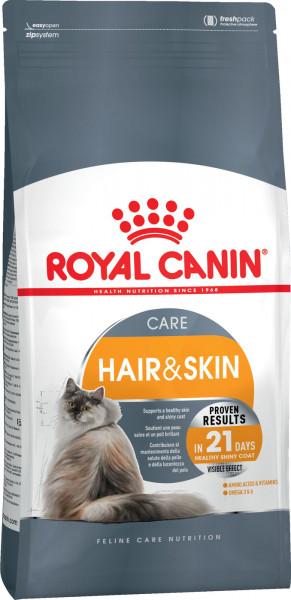Կատվի չոր կեր HAIR & SKIN CARE 0.4 կգ