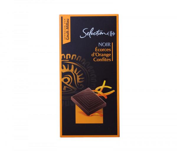Քարֆուր Մուգ շոկոլադ նարնջի միջուկով 100գ