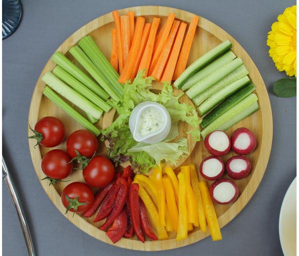 Բանջարեղենային ափսե Գարուն