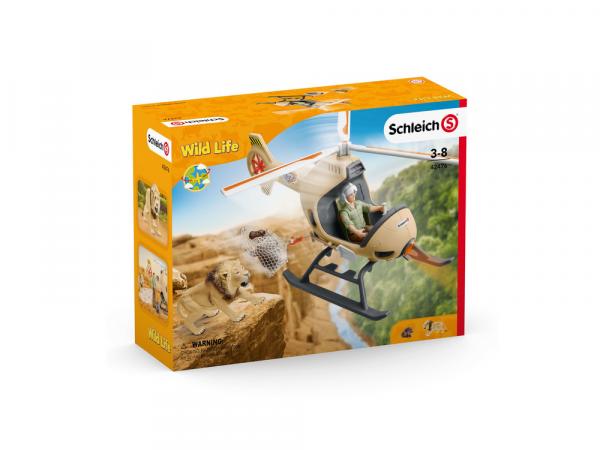 Schleich Արձանիկ «Կենդանիների փրկարարական ուղղաթիռ»
