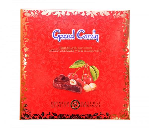 Շոկոլադապատ բալի չիր պնդուկով 170գ Grand Candy