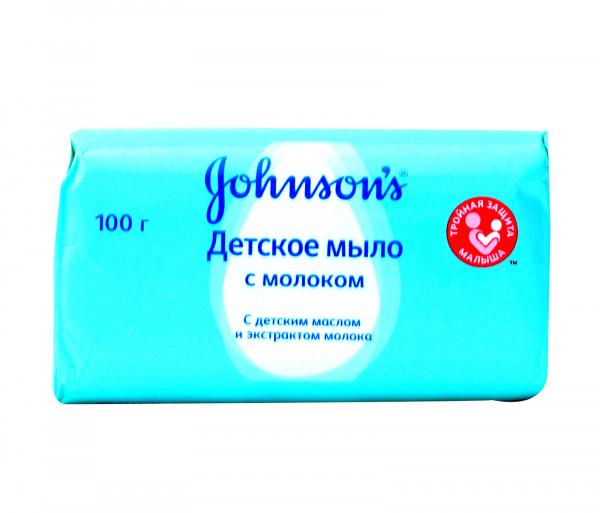 Ջոնսոնս Բեյբի Մանկական օճառ կաթով 100գ