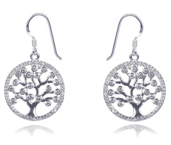 Silver earrings SE282