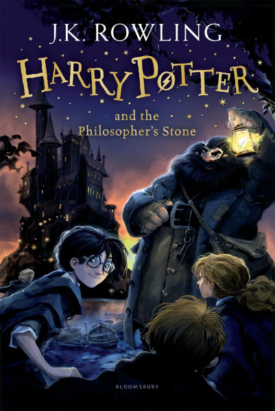 """J. K. Rowling """"Harry Potter and the Philosopher's Stone"""" Bookinist"""
