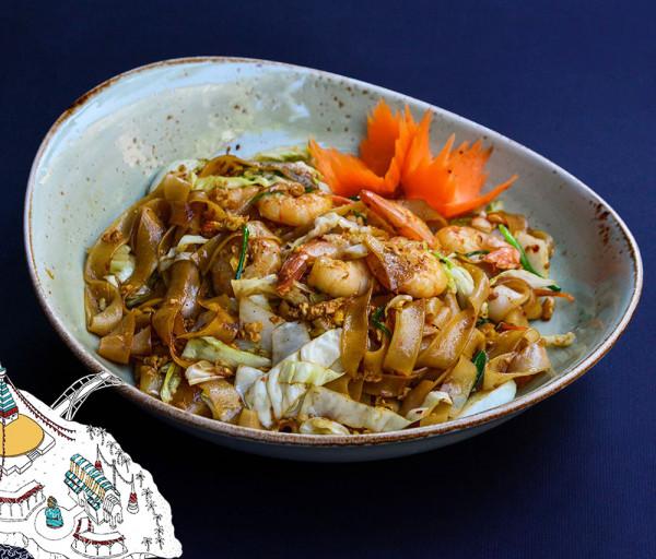 Փադ Սյու ծովախեցգետնով Thaiwine Republic