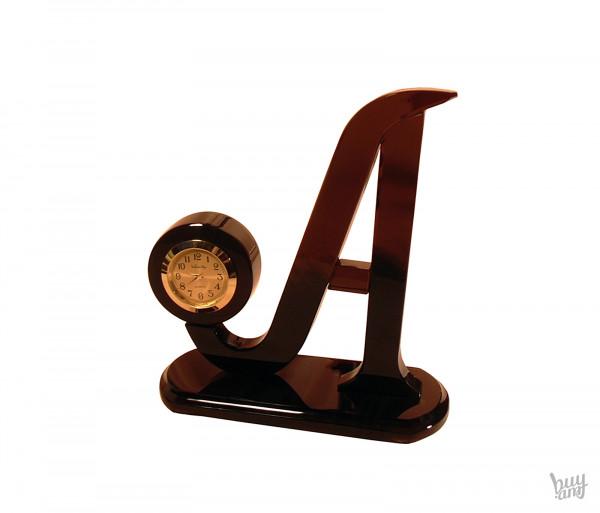 Սեղանի ժամացույց օբսիդիան «Աֆինա»