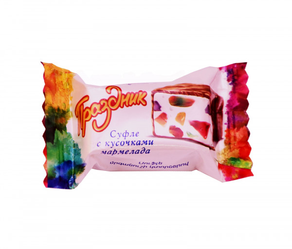 Մարմելադի կտորներով սուֆլե «Տոն» Grand Candy