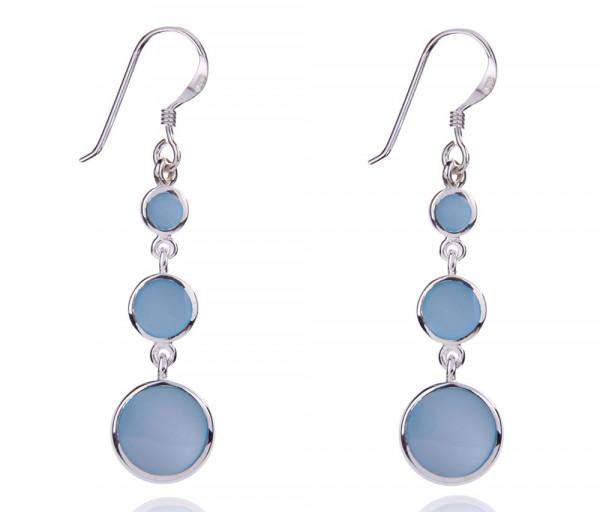 Silver earrings SE275B