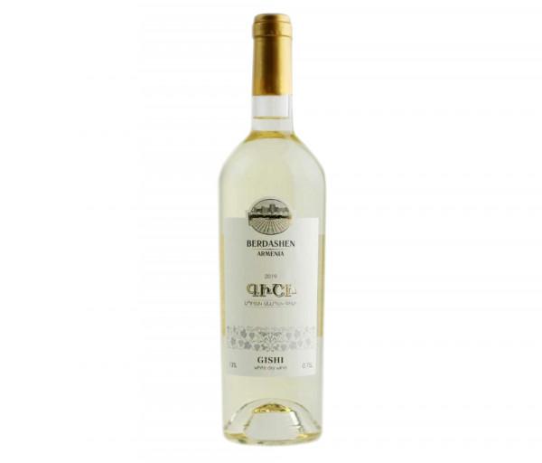 Բերդաշեն Գիշի Սպիտակ Անապակ Գինի 0.75լ