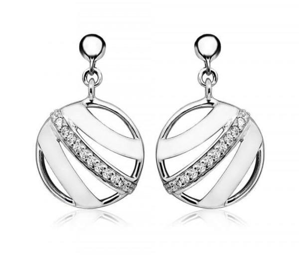 Silver earrings SE374