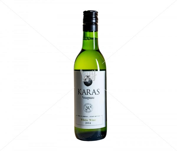 Գինի «Karas Classic» (սպիտակ, չոր) 187մլ