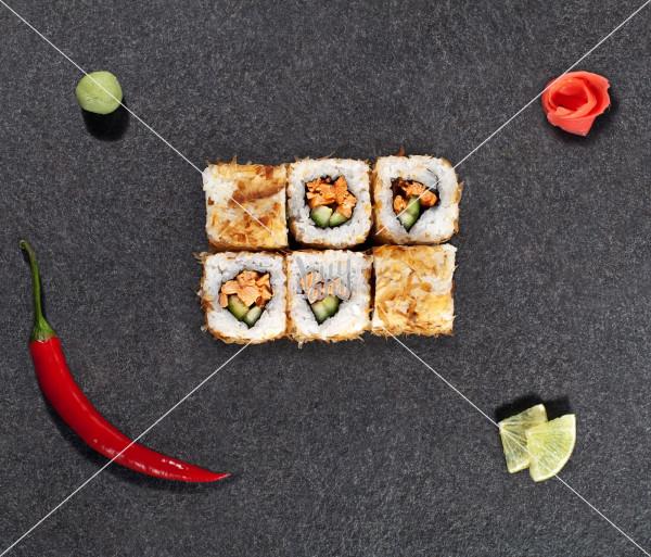 Հոթ Սաղմոն Սկին AKO Sushi