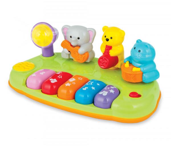 Մանկական խաղալիք դաշնամուր ուրախ ձայնային ուղեկցությամբ 536126EL